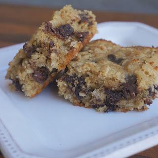 Oatmeal Dark Chocolate Cookie Bars.
