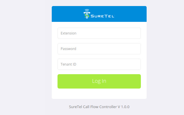 SureTel Call Flow Beta Controller