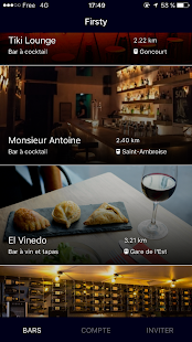 Firsty - Free drinks in Paris' best bars - náhled