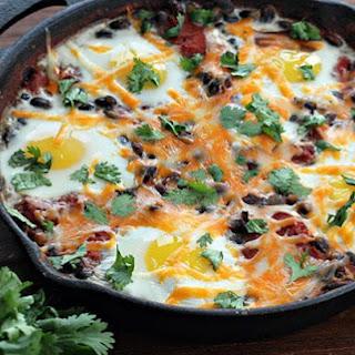 Mexican Bean Breakfast Skillet.