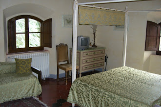Photo: Our room at the Villa in Chianti, Italy