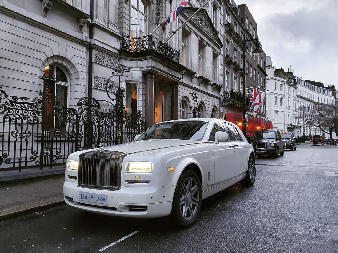 Rolls-Royce Phantom Hire London
