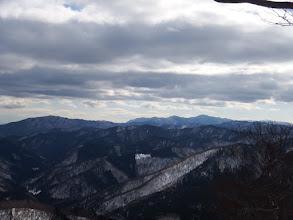 比良山系の山々