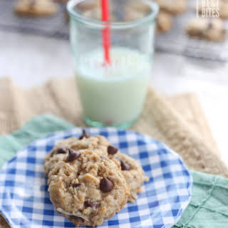 Coconut Chocolate Oatmeal Cookies.