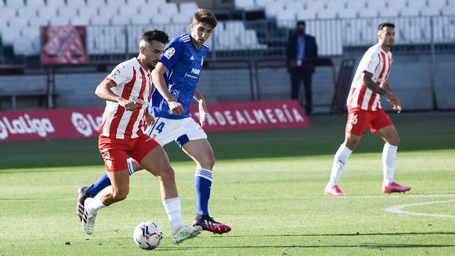 Manu Morlanes ha hecho una temporada sensacional con el Almería.