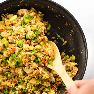 Chicken Cauliflower Fried Rice.
