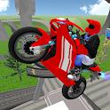 Stunt Motorbike Race 3D icon