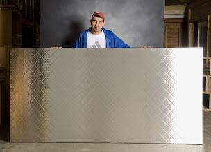 Photo: Diamond Steel Clad Freezer door made with Sing Honeycomb Composite Panels