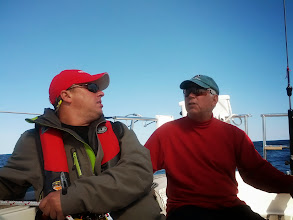 Photo: Scott & Bill in the cockpit