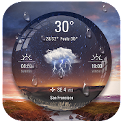 Weather Ball Lock Screen App