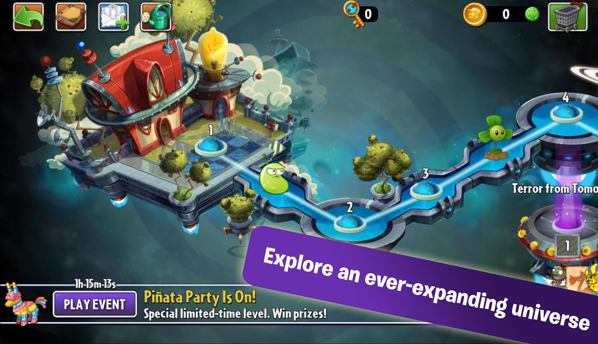 Plants vs. Zombies 2 screenshot #8