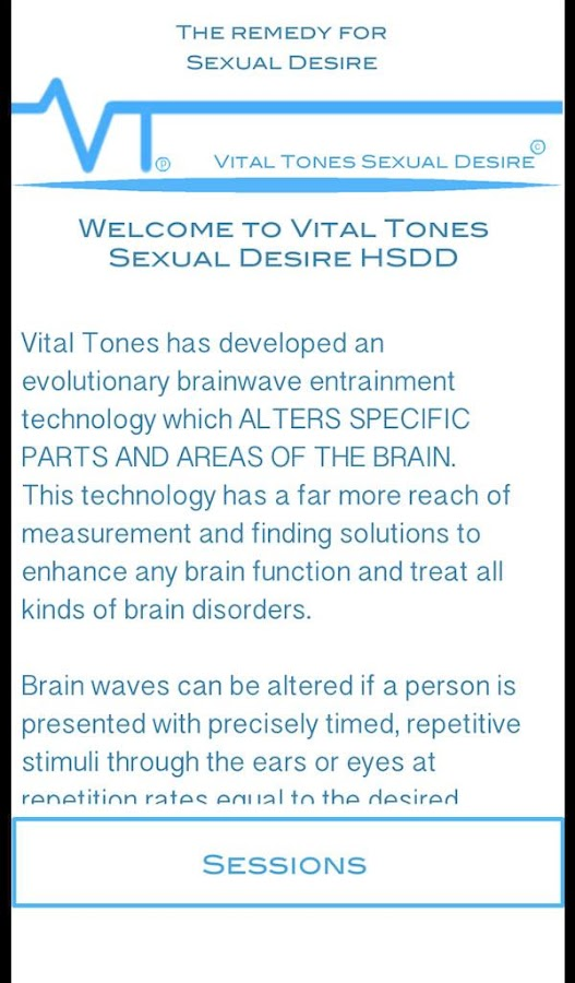 Vital Tones Sexual Desire- screenshot