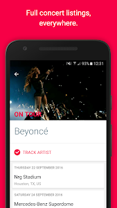 Songkick Concerts screenshot 1