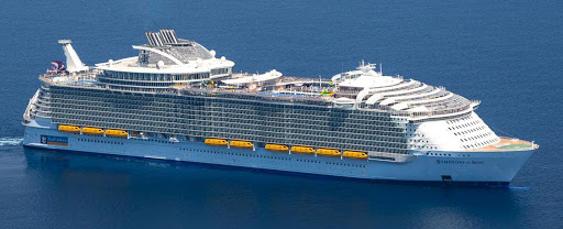 symphony-of-seas-aerial.jpg - Symphony of the Seas, the world's largest cruise ship, offers seven-day sailings to the Caribbean out of Miami.
