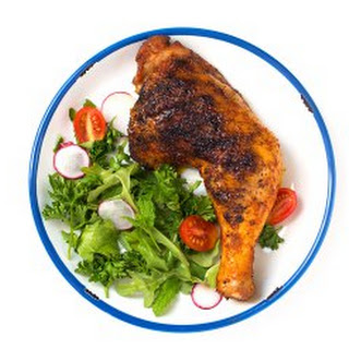 OVEN ROASTED ACHIOTE CHICKEN.