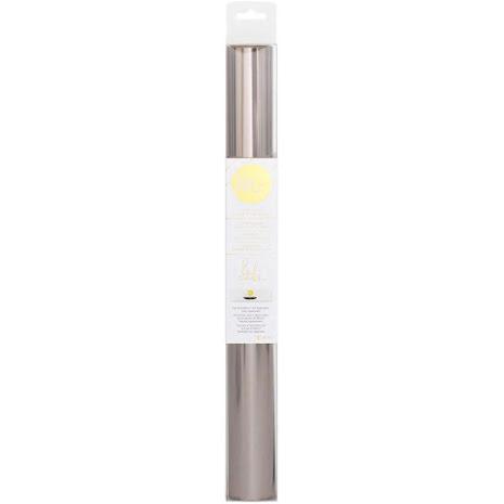 Heidi Swapp Minc Reactive Foil 12.25X10 Roll - Gunmetal