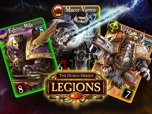 The Horus Heresy: Legions u2013 TCG card battle game 0.99.6 gameplay | by HackJr.Pw 13