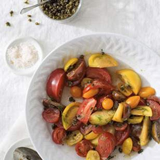 Heirloom Tomato Salad with Fried Capers