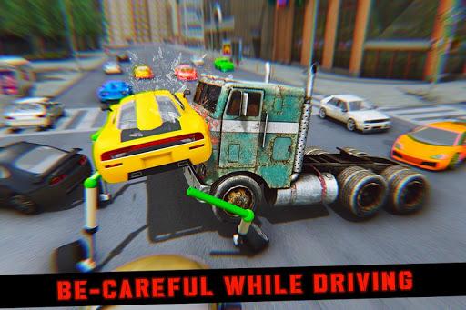 Elevated Car Racing Speed Driving Parking Game screenshot 3