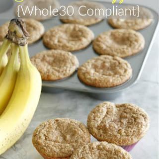 Whole30 Banana Muffins.