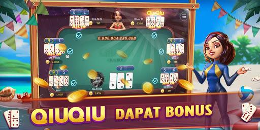 Domino Gaple QiuQiu 99 Poker Game Online Free Koin apkdebit screenshots 2