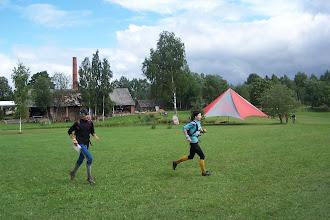 Photo: Финишируют Фечо и Уфимцева ( 14 место)