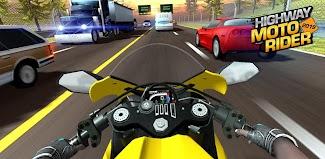 Highway Moto Rider 2 - Traffic Race poster