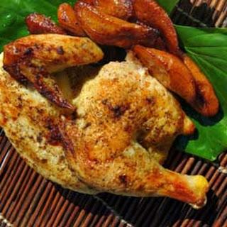 Garlic Roasted Chicken -- Pollo Asado al Ajillo
