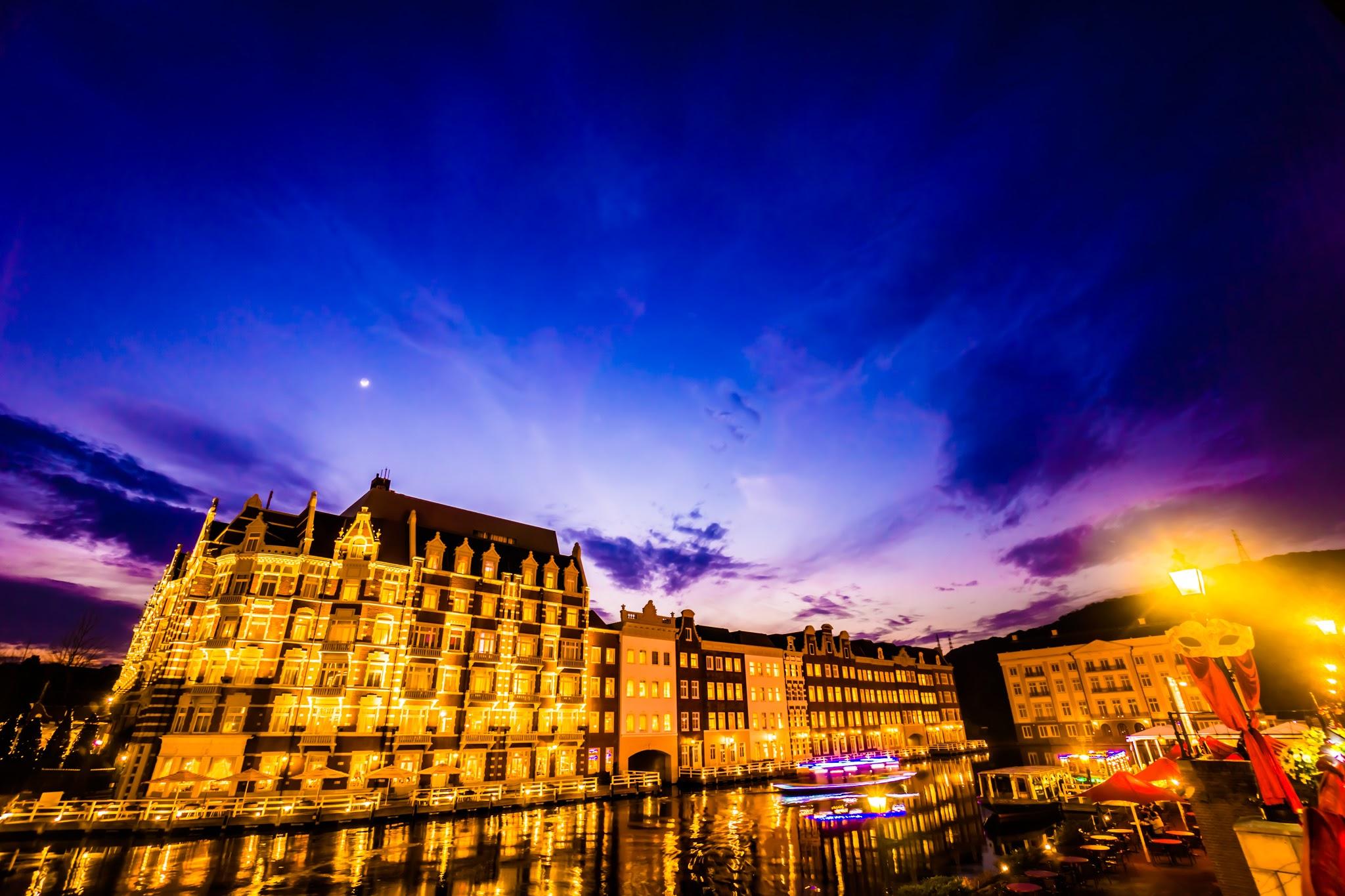 ハウステンボス イルミネーション 光の王国 ホテルヨーロッパ1