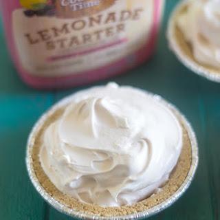 Berry Frozen Lemonade Pie