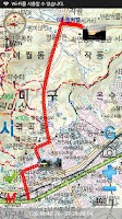 Screenshot of 등산지도 산으로가는길 GPS World