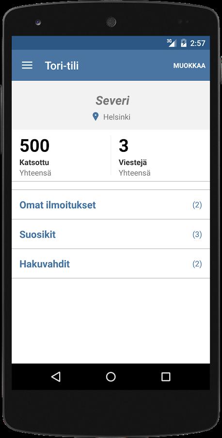 Tori.fi - screenshot