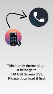 Call Screen Theme OS 11 Phone 8 7