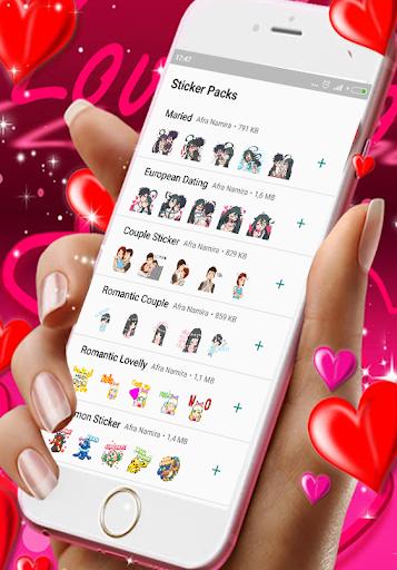 WaStickerApp Romantic - Love Sticker For WhatsApp cheat hacks