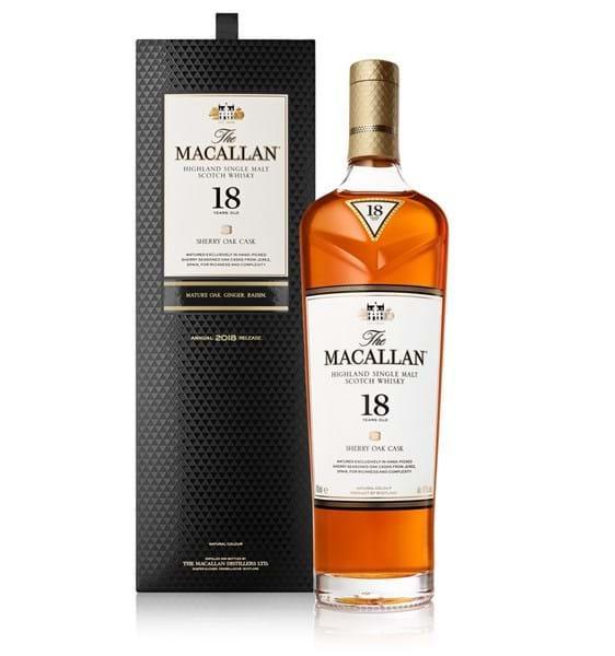 Macallan 18 Sherry Oak