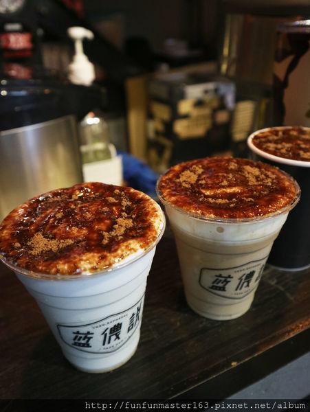 台北士林 // 藍儂說cafe bar  滿到像肉鬆的黑糖拿鐵你喝過了嗎?  銘傳大學 早餐街 士林夜市