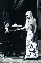 Photo: Ortrun Wenkel  an der Staatsoper Dresden, Großes Haus. Liederabend, Pianist Rudolf Jansen