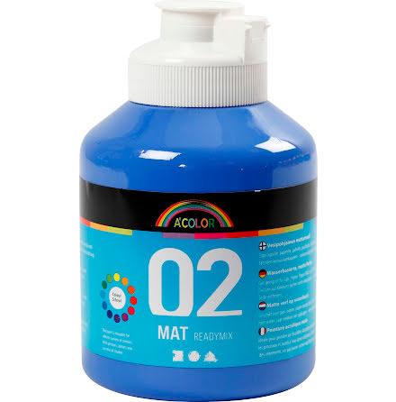 Readymix matt 500 ml blå
