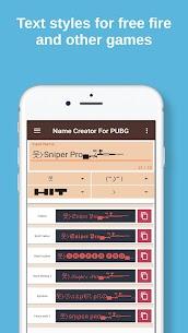 Name creator for pubg 3