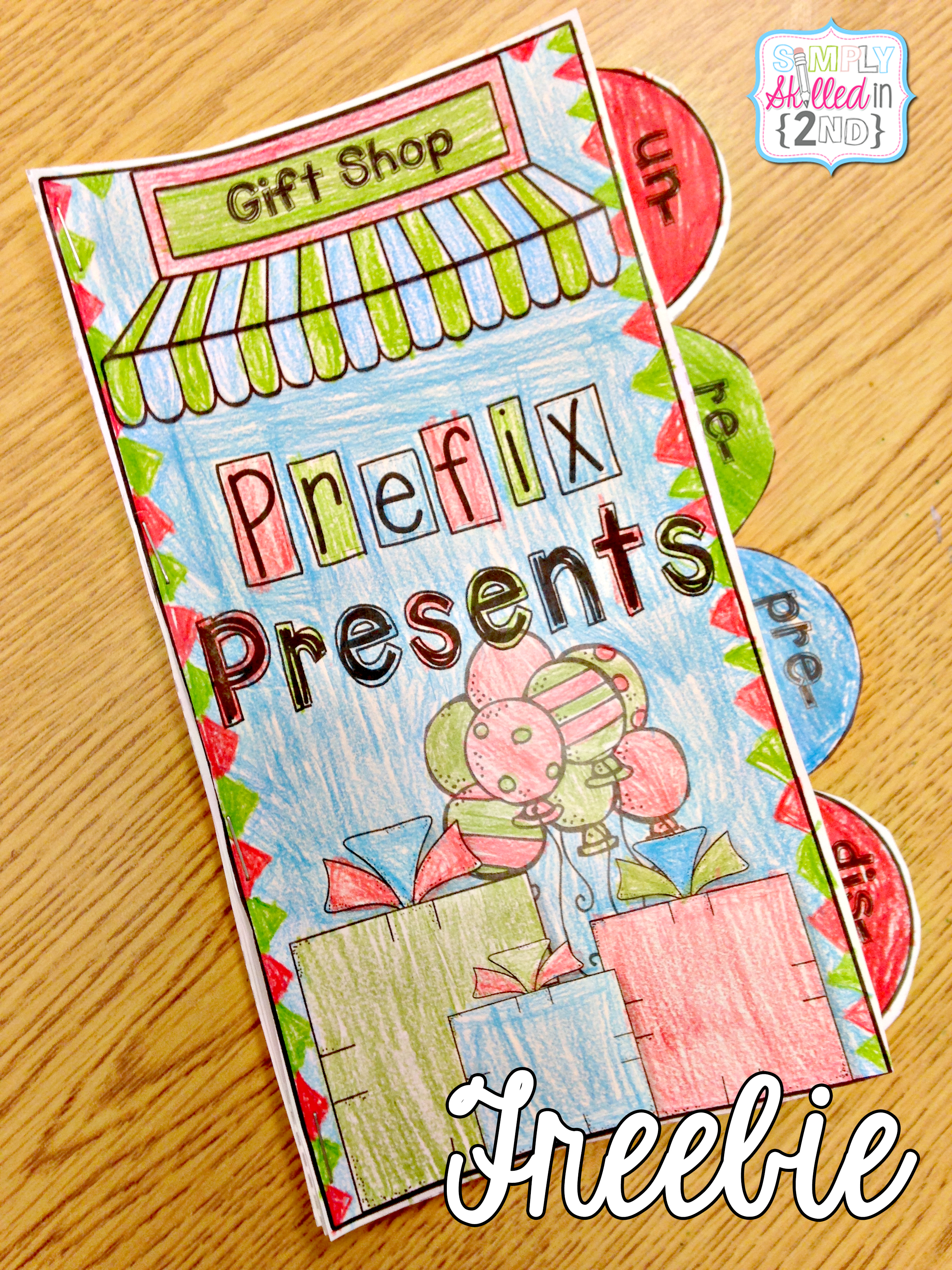 prefixes, prefixes activity, prefixes freebie, prefixes tab-its
