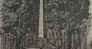 Cenotafio erigido en el cementerio de Belén en homenaje a Los Coloraos.