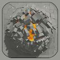 Destructive physics: demolitions simulation icon