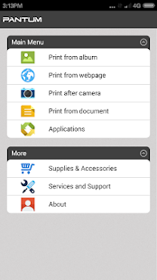 Pantum Mobile Print & Scan screenshot