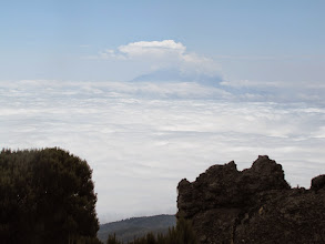 Photo: Mount Meru - 35 miles away
