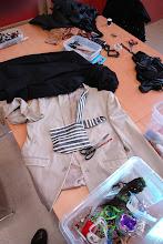 Photo: Workshop Fashion Redesign met ontwerper Sepehr Maghsoudi - fotografie Gerrit Schoone