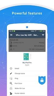 Who Use My WiFi - Network Scanner Screenshot
