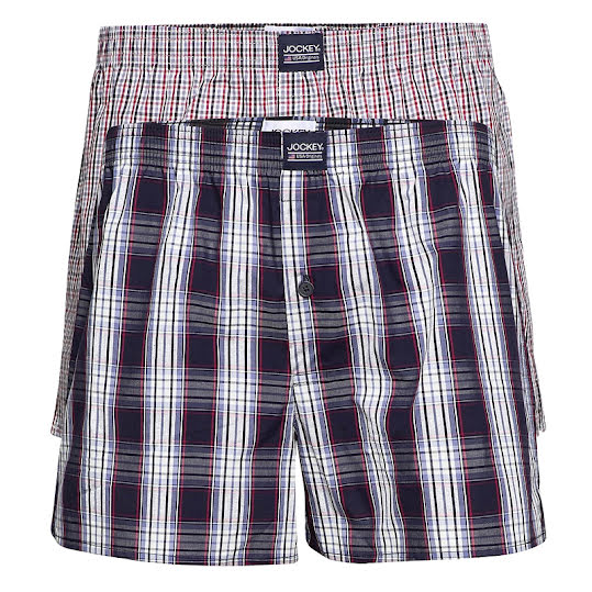 Jockey Boxershorts US Originals 2-Pack