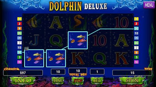 Dolphin Deluxe Slot 1.2 screenshots 4