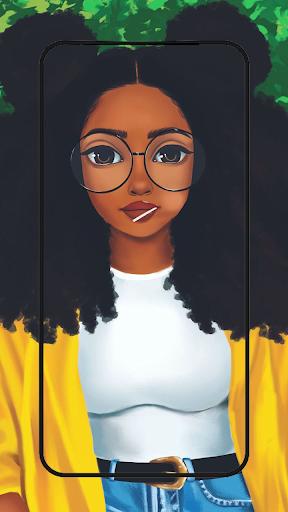 Cute black girls wallpaper melanin screenshot 5