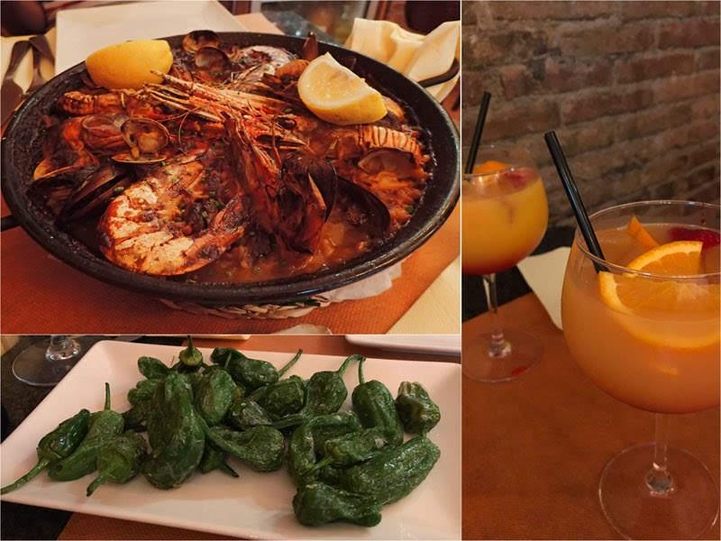 Paella at El Tastet de L'Artur (Barcelona, Spain)
